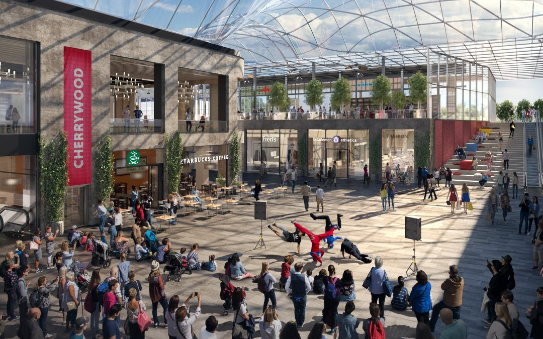 Plans to redevelop Dublin suburb into major mixed-use town centre unveiled