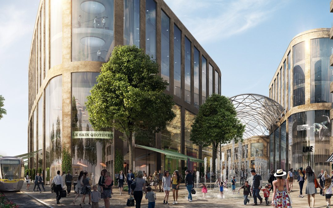 Hines is developing 'Ireland's future of retail' – a flagship development Cherrywood Town Centre